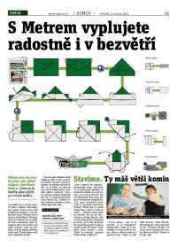 Metro čtečka digitálního vydání 4.6.2015